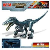 NEUE legoinglys Jurassic Welt Park Raptor Dinosaurier Spinosaurus Indoraptor Fakten Bausteine Ziegel Spielzeug Für Kinder Geschenk