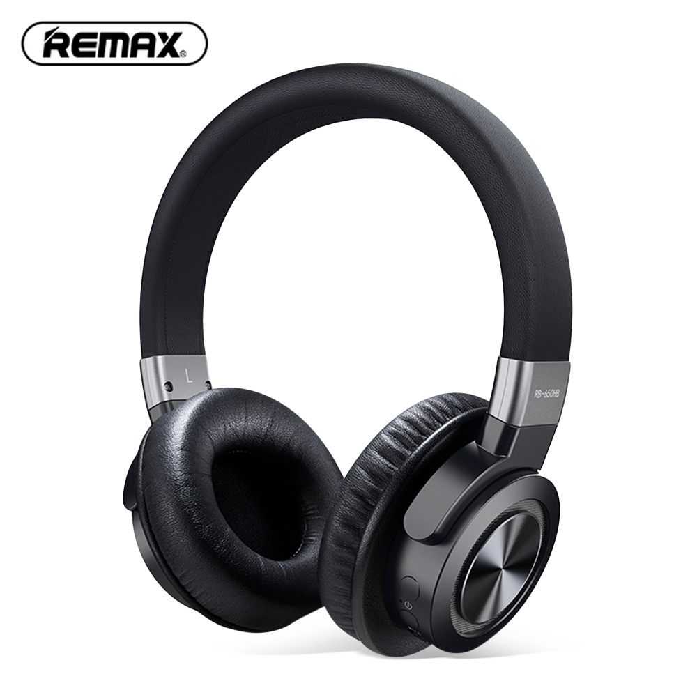 Remax RB 650HB Bluetooth Headset Stereo Music Headphones Noise Cancelling With Wireless Control Larger Capacity For Sports
