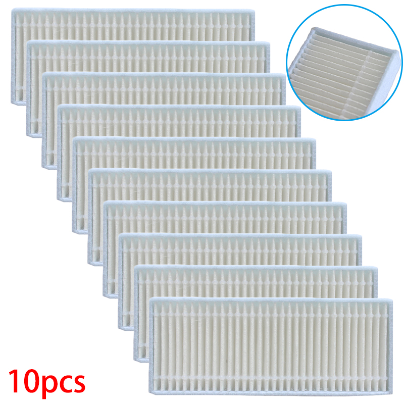 10pcs Filters Vacuum Cleaner Parts Accessory Filter Set Replace For Neatsvor V390 Tool Parts Accessories