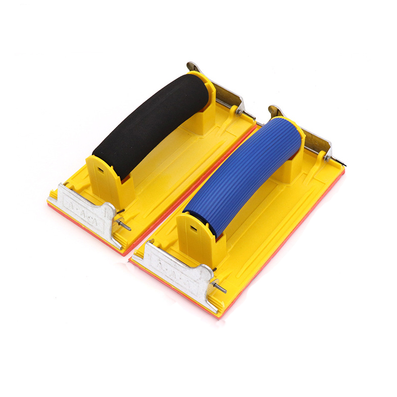 Sandpaper Holder For Woodworking Hand-made Abrasive Tools Small And Easy To Change Sandpaper Holder