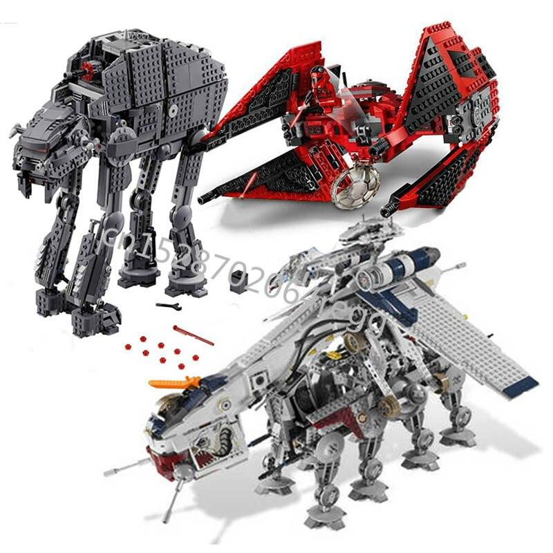 Presale 05053 Legoinglys Star Wars 75240 Plan The 10195 Republic Dropship Set Building Blocks Bricks Assembly Toys Kids Gifts