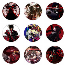 Hellsing Cosplay Badges Alucard Broche Icon Collectie Tassen Seras Victoria Breastpin voor Rugzakken Kleding(China)