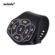 Kebidu Media Taste Musik Player Controller Bluetooth 4,0 Fernbedienung für Auto Lenkrad Bike Handys