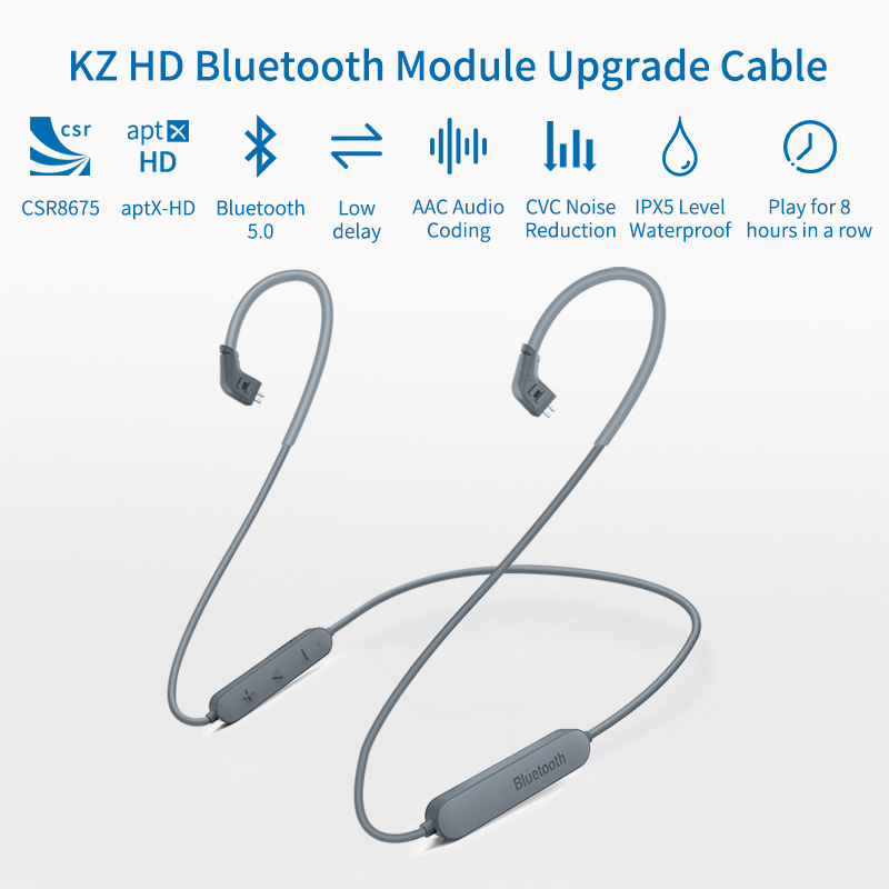 Image 3 - Kz aptx hd CSR8675 Bluetooth5.0 ワイヤレスモジュールイヤホンアップグレード適用されますオリジナルヘッドホン AS10 zst ES4 zsn プロ ZS10 AS16電話用イヤホン & ヘッドホン   -