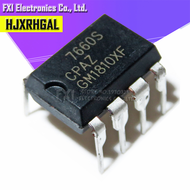 Free Shippin 10pcs/lot ICL7660SCPA ICL7660S 7660 Line DIP8 Original Authentic