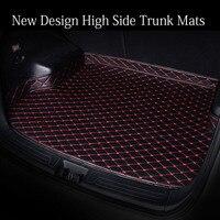 Custom fit car trunk mats for Honda City CRV CR V Accord Crosstour HRV HR V Vezel Civic 6D car styling carpet floor liners