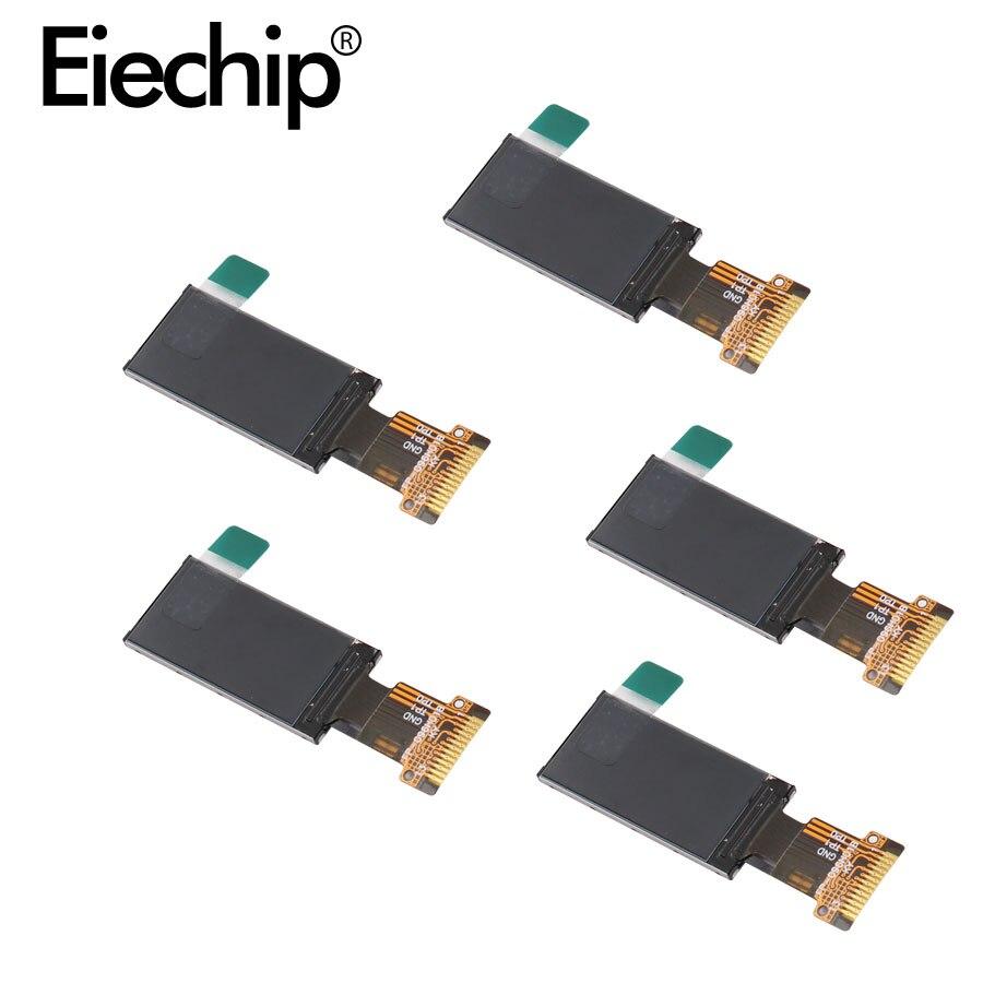 0.96 calowy wyświetlacz IPS wyświetlacz TFT LCD ekran 80*160 ST7735 napęd IC 3.3V 13PIN SPI HD pełny kolor dla arduino IPS moduł wyświetlacza