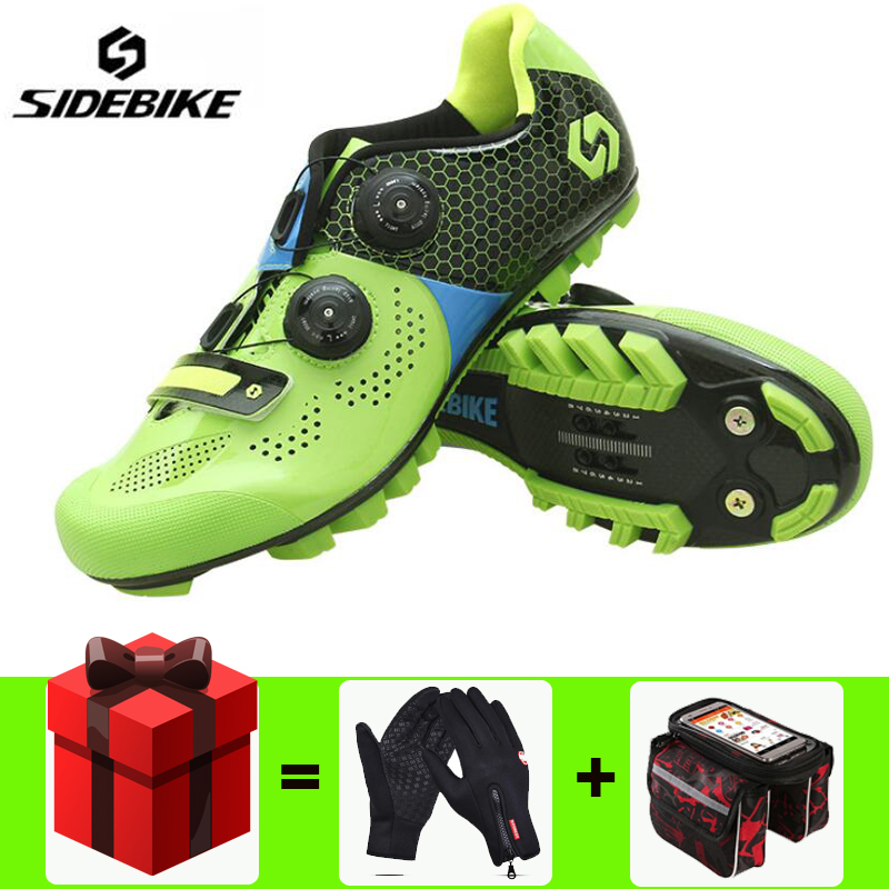 Sidebike 2018 SD011 carbon cycling shoes road bike riding women /& men self lock