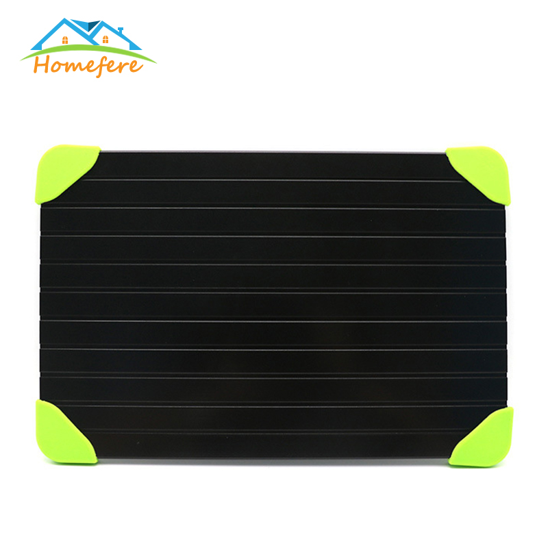Fast Defrosting Tray Meat Defrost Tray Chopping Board Safety Thawing Tray Quick Thawing Plate For Frozen Food Meat Kitchen Tools
