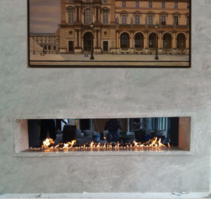 Inno-fogo 72 polegadas lareira ao ar livre modernos poços de fogo por atacado