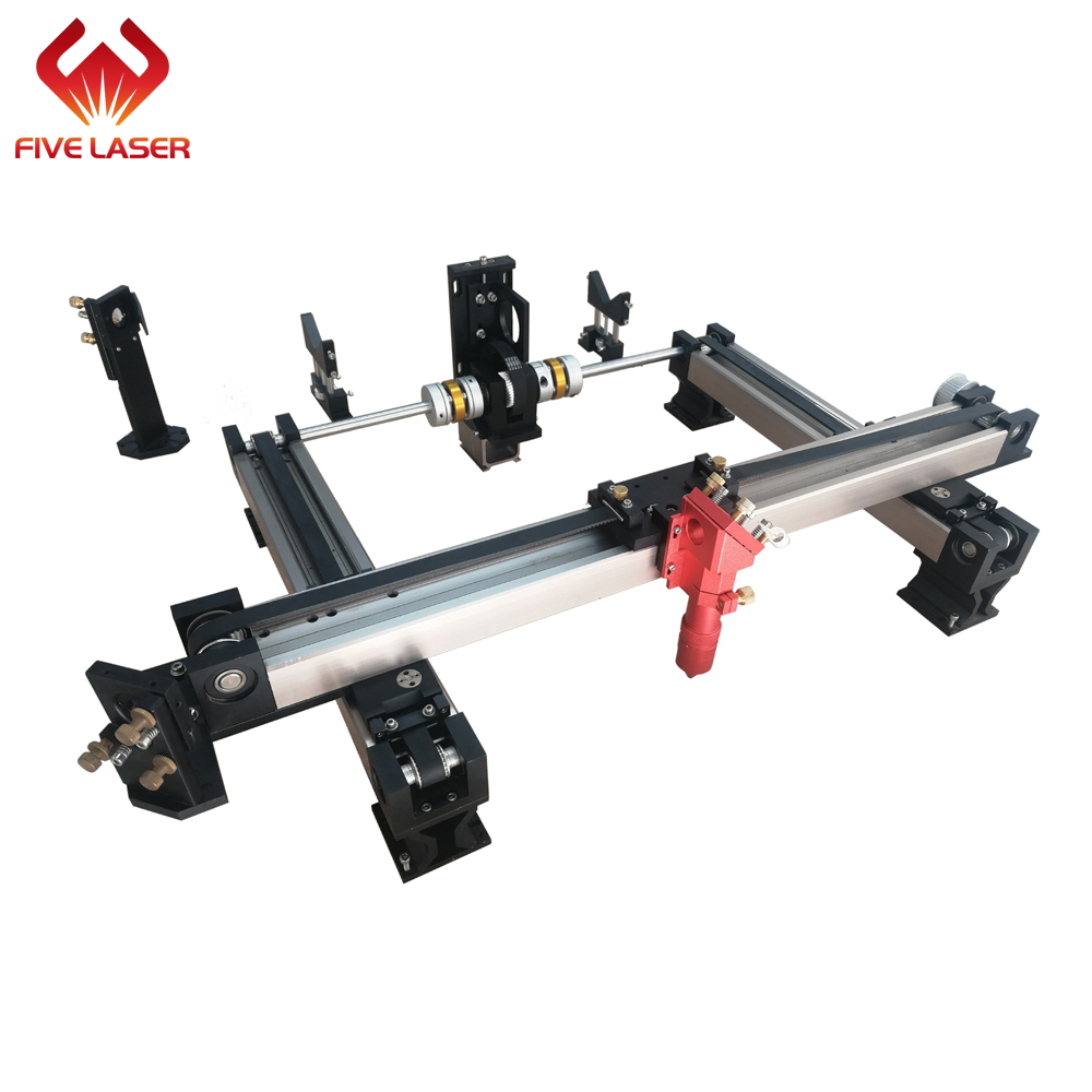Laser XY Sliding Rail 1800*1200mm For Building Laser Cutting Machine & Laser Mechnical Parts For DIY Laser Cutter