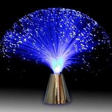 Светодиодный волоконно-оптический светильник, меняющий цвет, ночной расслабляющий, успокаивающий