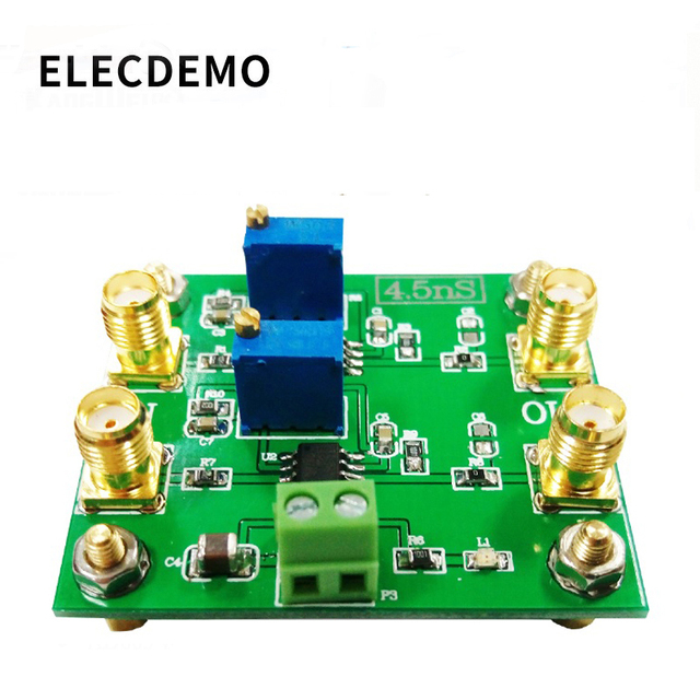 TLV3501 Module 4.5ns Ultra High Speed Comparator Rail to Rail Output Voltage Comparison Dual Comparator Function demo Board