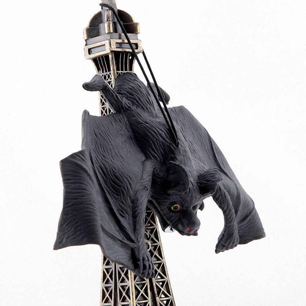 1 adet cadılar bayramı simülasyon yarasa Trick oyuncak asansörler