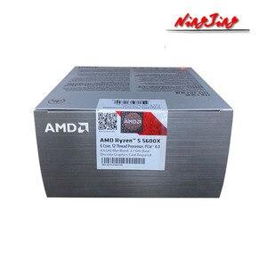 Image 4 - AMD Ryzen 5 5600X R5 5600X 3.7 GHz Six Core Twelve Thread CPU Processor 7NM 65W L3=32M 100 000000065 Socket AM4 New and with fan