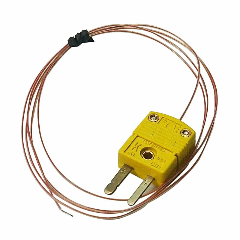 Omega K-Type Thermocouple Sensor Temperature Wire TT-K-30-SLE For BGA Reworking Soldering Station 1 Metre For Ir6500 Ir8500