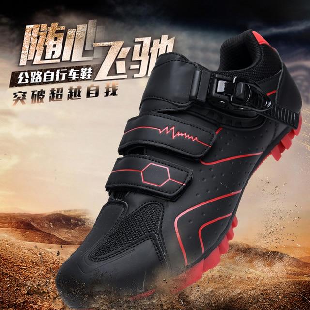 Mtb sapatos de ciclismo homem esporte ao ar livre sapatos de bicicleta auto-bloqueio profissional de corrida de estrada sapatos zapatillas 5