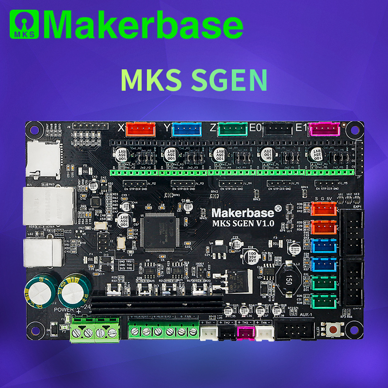 Makerbase MKS SGen 32bit controller board 3D printer board hardware marlin2 0 and smoothieware firmware With TMC2208 TMC2209