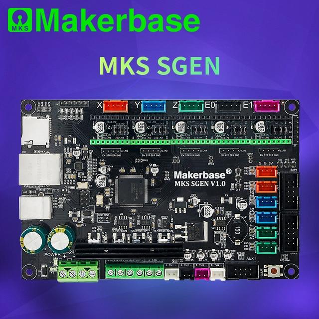 Makerbase MKS SGen 32bit لوحة تحكم لوحة طابعة ثلاثية الأبعاد الأجهزة marlin2.0 و سموثيواري الثابتة مع TMC2208 TMC2209