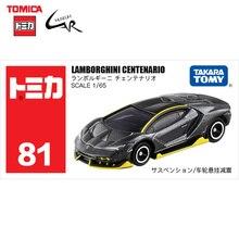 TAKATA TOMY TOMICA döküm alaşım araba modeli erkek çocuk oyuncakları 81 Lamborghini Centenar10 yarış spor araba Colllectilbes hediye