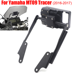 Motorcycle Front Phone Stand Holder Smartphone Phone GPS Navigation bracket For Yamaha MT 09 MT09 Tracer 900 2016 2017 18 19