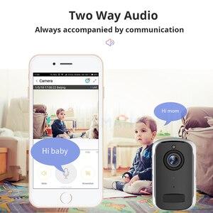 Image 5 - Rechargeable Battery IP Camera Wifi 1080P HD Outdoor Indoor Wireless Security Surveillance Camera Two Way Audio PIR Sensor Wide