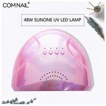 48 Вт SUNONE профессиональная светодиодная УФ-лампа для ногтей, Гель-лак для ногтей, светодиодная лампа для ногтей, Сушилка для ногтей, УФ-лампа, доставка с русского склада