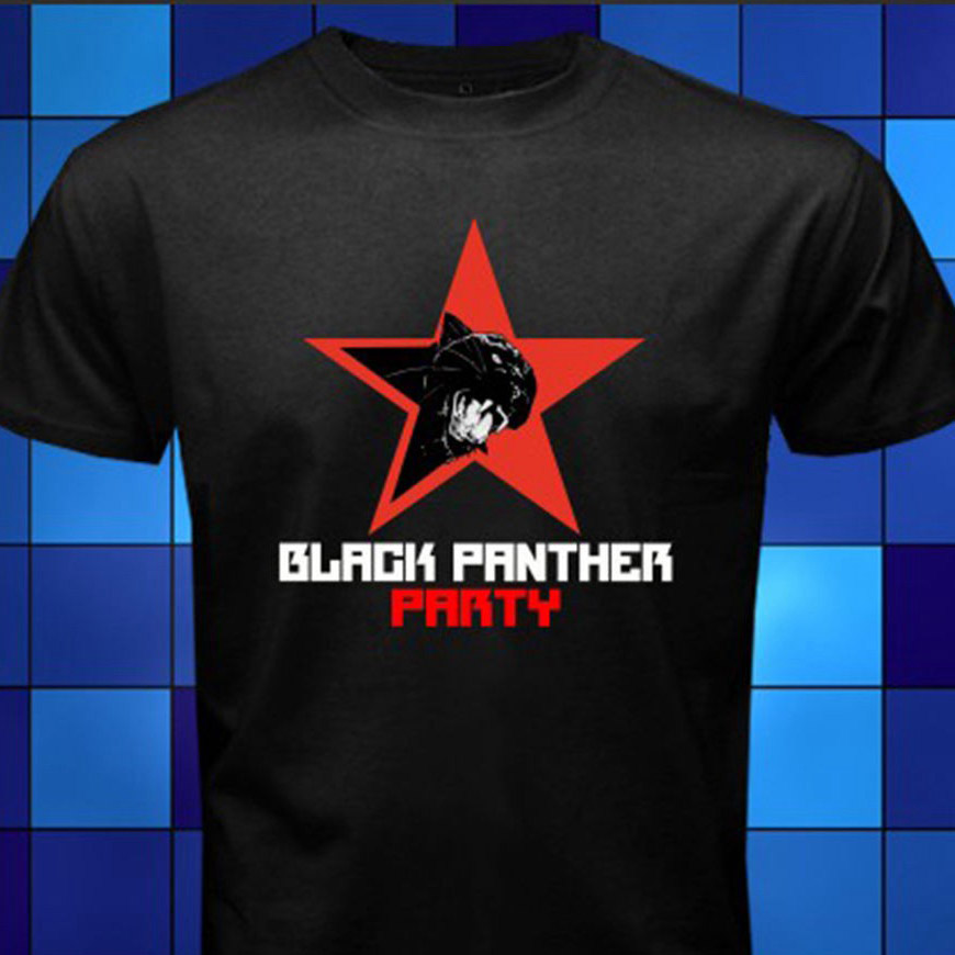 New Black Panther Party Logo * <font><b>Malcolm</b></font> <font><b>X</b></font> Black <font><b>T</b></font> <font><b>Shirt</b></font> Size S M L Xl 2Xl 3Xl Sale 100 % Cotton <font><b>T</b></font> <font><b>Shirt</b></font> 034257 image