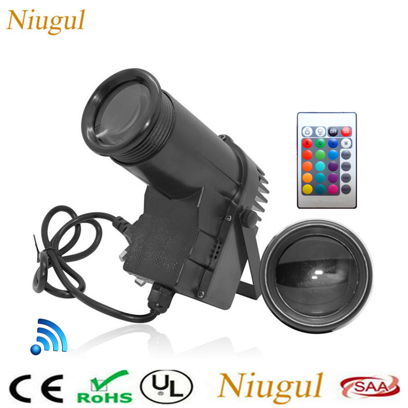 Wireless Remote Control 10W LED Pinspot Light RGB Beam Stage Lights Spotlight Track Lighting For Party Wedding Disco Mirror Ball