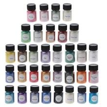 33 Colors Mica Powder Epoxy Resin Dye Pearl Pigment Natural Mica Mineral Powder