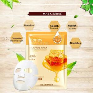 Image 3 - 20 Pcs Bioaqua Sheet Masker Slak Essentie Dope Korea Huidverzorging Gezichtsmasker Combo Plantenextract Aloë Vera Olijven Honing gezichtsmasker