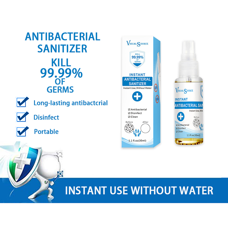 30ml Nano Silver Ion Antibacterial Sanitizer Hand Washing Spray Antibacterial Personal Hygiene Cleaning Supplies TSLM1 2