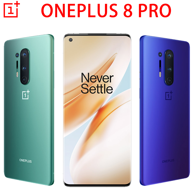 Oneplus 8 Pro 5G MobilePhone 6.78 inch Snapdragon 865 Octa Core Android10 Warp Charge NFC Smartphone Global Firmware image