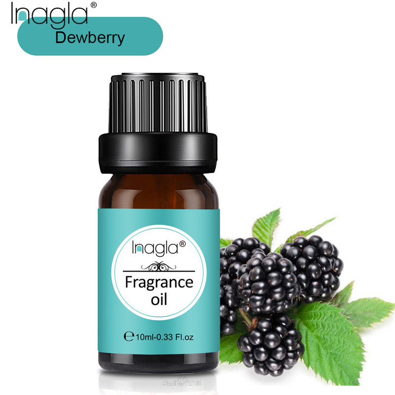 Inagla Dewberry 100% Natural Aromatherapy 10ml Fragrance Oil For Aromatherapy Diffusers Massage Relieve Stress Air Fresh
