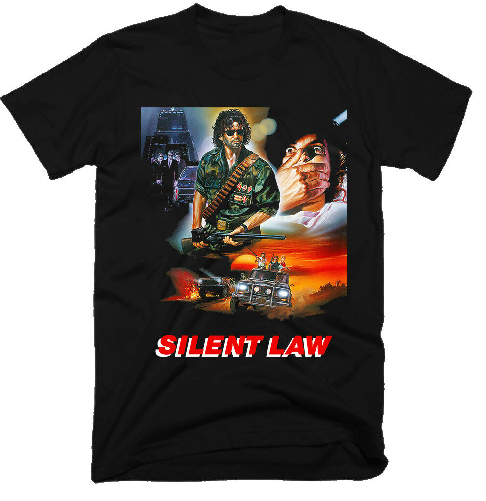 Silent Law Movie 100 Cotton Mens T Shirt E0852 image
