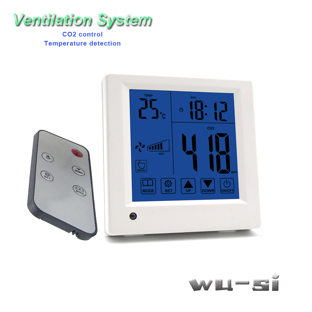 Regulator Co2 Output Relay Systemwith Tester Control Remote Ventilation Speed 3 Control