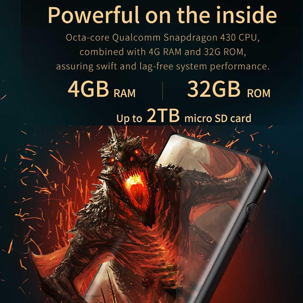 Shanling M6 Dual AK4495SEQ Android Os Evenwichtige Draagbare Muziekspeler MP3 Octa-Core Snapdragon 430CPU 4 Gb Ram DSD25 2.5/3.5/4.4 Mm