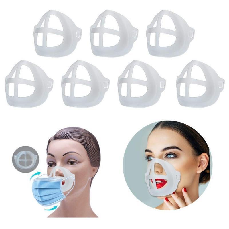 3D маска для рта, поддерживающая дыхательную вспомогательную маску, внутренняя подушка, кронштейн, силиконовая многоразовая маска, держатель, маска, кронштейн для ухода за кожей лица| |   | АлиЭкспресс