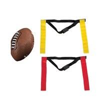 Американский футбольный матч спортивный пояс флаг для регби учебный тег поясной ремень флаг Регулируемая лента Профессиональный свободный размер пояс