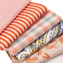 純粋な綿プリント生地ピンク森シリーズ手作りパッチワークdiy人形バンドル縫製布25*25センチメートル5ピース/パックP32