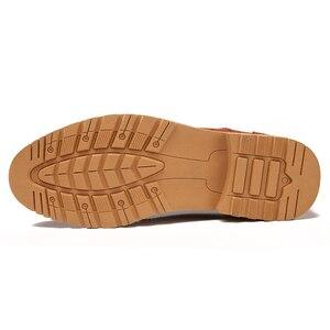 Image 5 - קלאסי גברים מבטא אירי נעלי יוקרה בריטי שמלת נעלי עסקים בולוק עור נעליים באיכות גבוהה זכר הנעלה 2019 Dropshipping