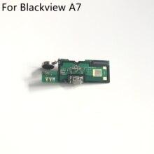 Blackview A7 Gebruikt Usb Charge Board + Trillingen Motor Voor Blackview A7 Reparatie Fixing Part Vervanging