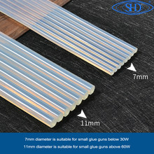 High Quality 7mm x100mm 11mm x100mmHot Melt Glue Sticks For Electric Glue Gun Craft Album Repair Tools For Alloy Accessories