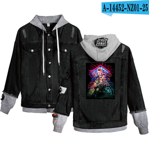 Image 2 - Preferential High Quality Stranger things Hoodies Denim jacket Men/Women sweatshirt Stranger things Boy/Girl Pullovers