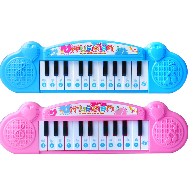 Kids Piano 21 Keys Mini Electronic Organ Musical Piano Teaching Keyboard Educational Toys For Kids Children Birthday Gift
