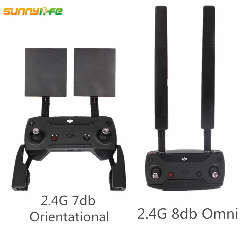 for DJI Mavic Pro Refitting Antenna Combo Extender Range 2 4G 7DB Orientate 8DB Omni Signal Booster Mavic Pro Accessories
