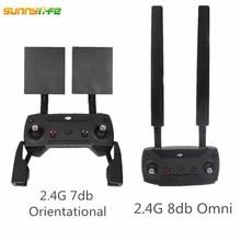 for DJI Mavic Pro Refitting Antenna Combo Extender Range 2.4G 7DB Orientate 8DB Omni Signal Booster Mavic Pro Accessories