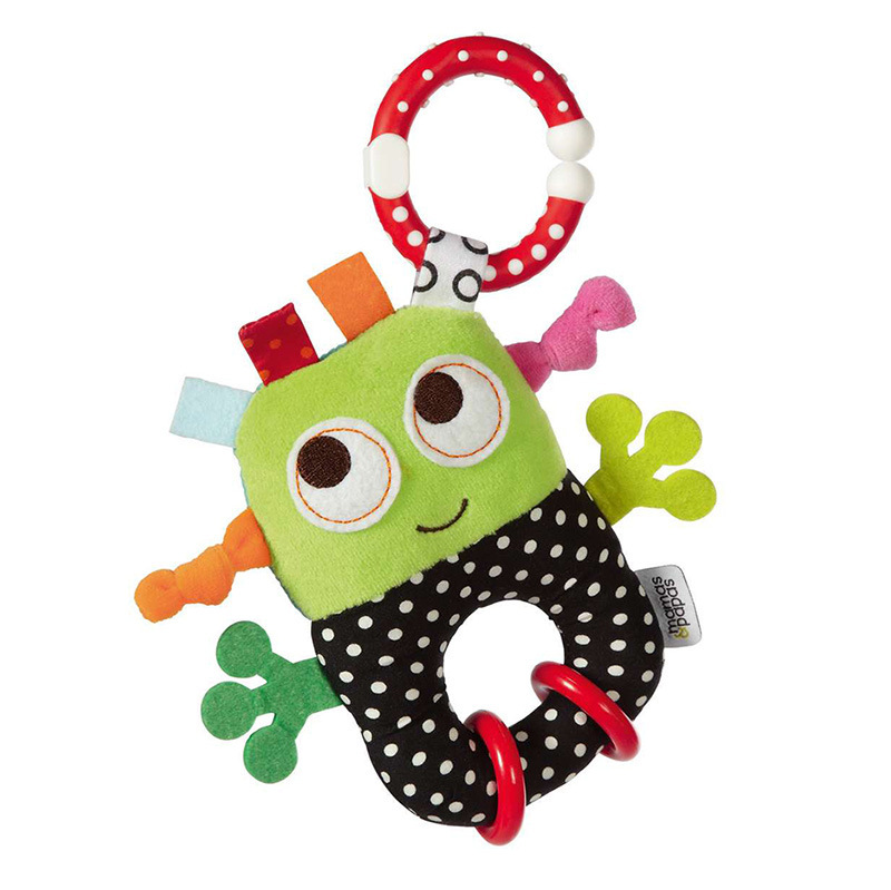 Infants Small Robot Bed Hanging Car Hanging With Rattle Rubber Gasket Educational Toy