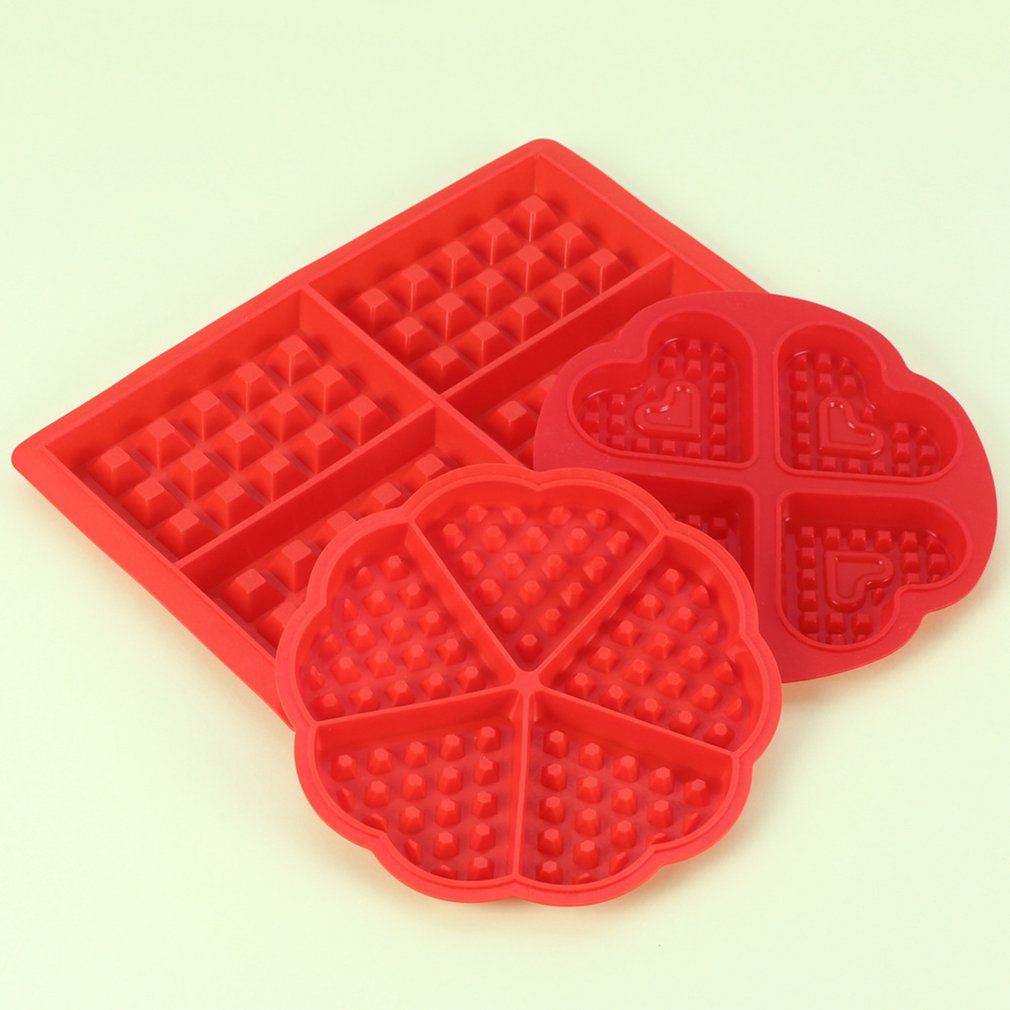 Diy Waffle Mold Maker Pan Microwave Baking Cookie Cake Muffin Silicone Bakeware Cooking Tools Kitchen Accessories Supplies Flash Deal E2f921 Cicig