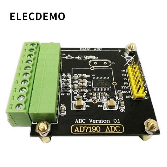 AD7190 Module Digital Weigh Module 24 bit Analog to Analog Converter Pressure Sensor High Precision ADC  Module